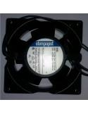 Ventilador axial para chimeneas