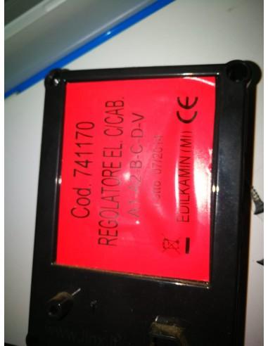 VENTILADOR DE AIRE CENTRÍFUGO D2E120-AA01-06 CON CONENT.
