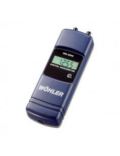Micro manómetro digital Wöhler DM 2000