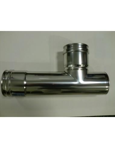 CODO DE 45º, ACERO INOX  AISI 316, diámetro 80 mm