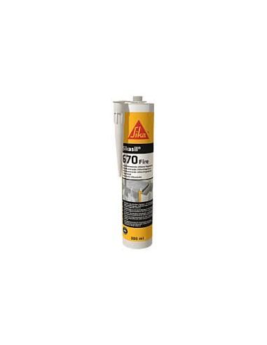 Sikasil®-670 Fire (SELLADOR MONOCOMPONENTE CON CLASIFICACIÓN AL FUEGO)