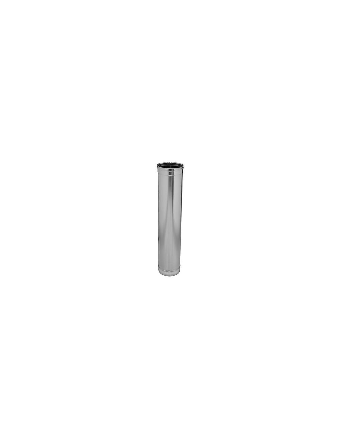 Tubo de un metro de largo chimenea pellets - Tubo de chimenea ...
