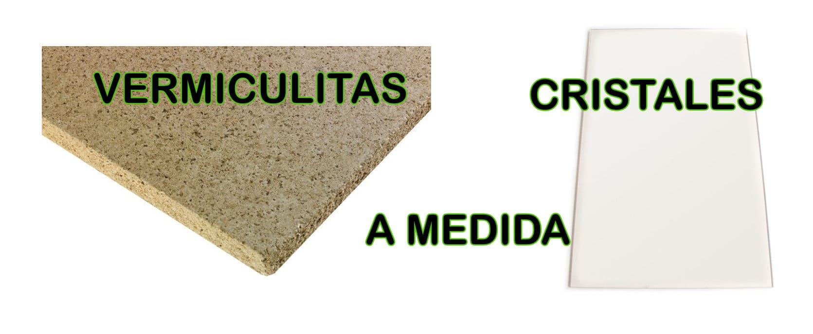 Cristales y vermiculitas a medida