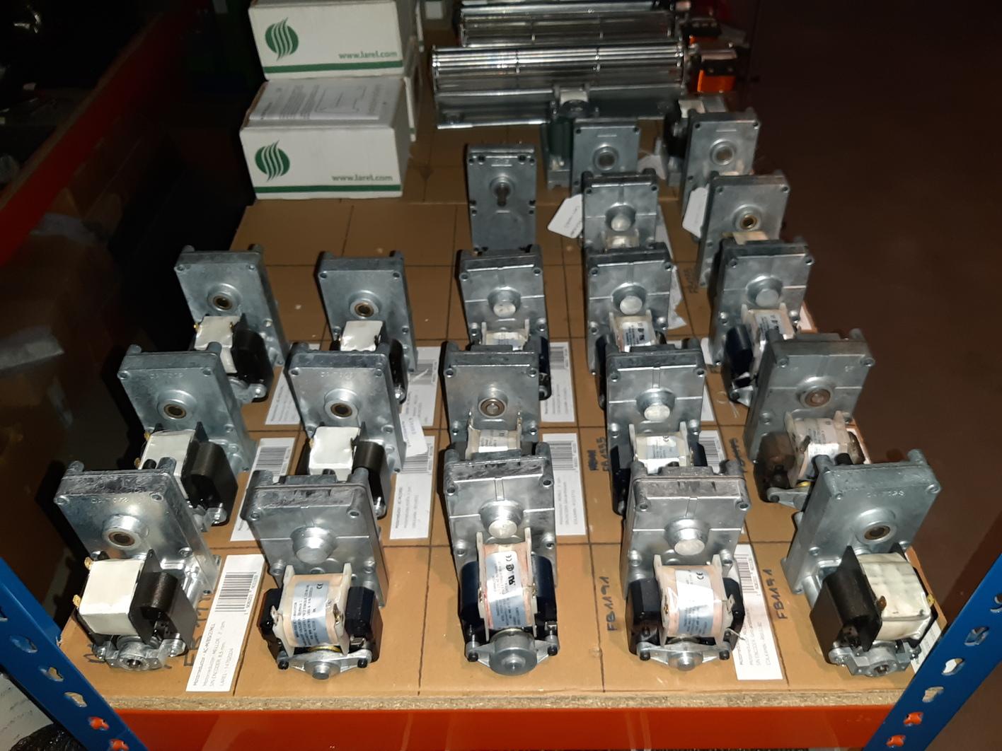 Motores estufas