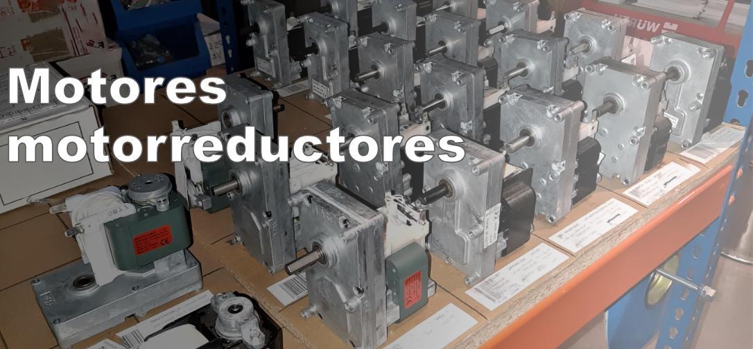 Motores y motorreductores estufas